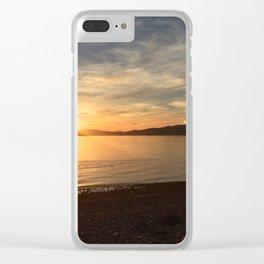 Ocean Calm VI Clear iPhone Case