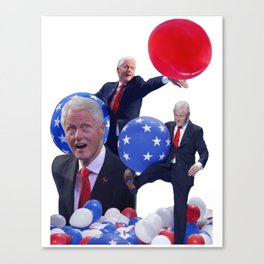Bill's Balloons Canvas Print