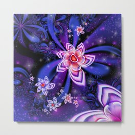 Magical Flowers Metal Print