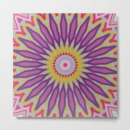 Some Other Mandala 394 Metal Print
