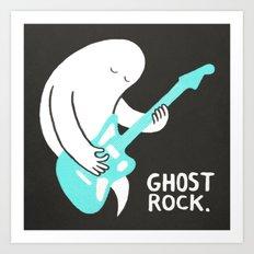 Ghost Rock Art Print