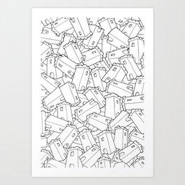 CASTLES! Art Print