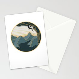 Let's go climbing Stationery Cards