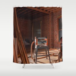 ReConstruction Shower Curtain