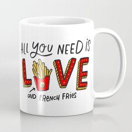Love and French Fries Coffee Mug