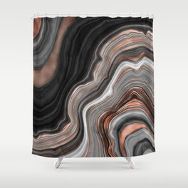 Agate Stone IV Shower Curtain