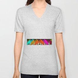 Gunther Rainbow Unisex V-Neck