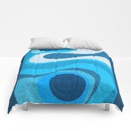 Blue Shag: A Wall Rug Design Comforters