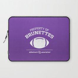Property of Brunettes Laptop Sleeve