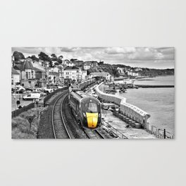 Dawlish Express Canvas Print