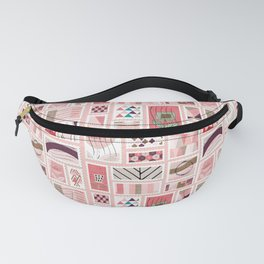 Snail Mail Pink Pastel Fanny Pack