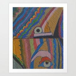 Cactus Spirit 1 Art Print