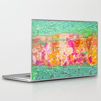 honeycomb Laptop & iPad Skins featuring Honeycomb by Ingrid Padilla