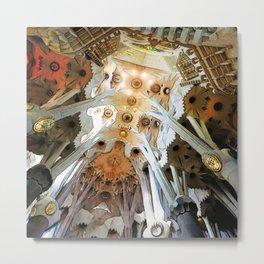 Sagrada Familia by Gaudi, Barcelona Cathedral Metal Print