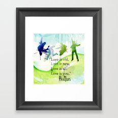 love is you Framed Art Print