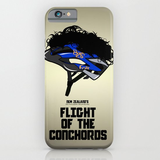 Flight of the Conchords - Hair Helmet iPhone & iPod Case