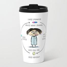 Medicinal Cures and Causes Travel Mug
