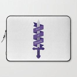 Ace of Swords Laptop Sleeve