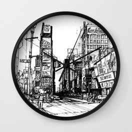 NYC Times Square Wall Clock