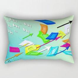 Cell Escape Rectangular Pillow