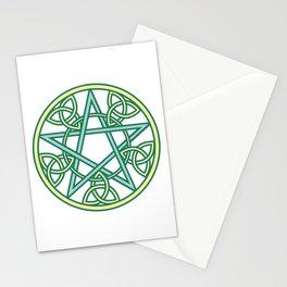 Celtic Pentacle Stationery Cards