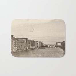 A postcard from Trondheim Bath Mat