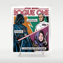 Rogue One Shower Curtain