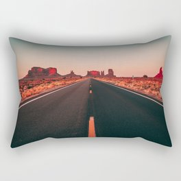 Lost highway Rectangular Pillow