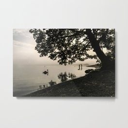 The Young Lovers at Windermere Metal Print