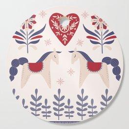 Swedish Christmas 3 Cutting Board
