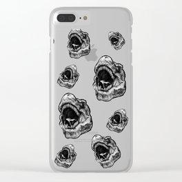dimosaur15 Clear iPhone Case