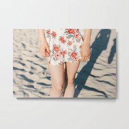 Flower Dress Metal Print