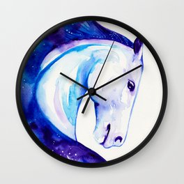 Galaxy Horse Wall Clock