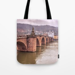 Heidelberg Bridge Tote Bag