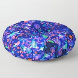 Abstract modern Memphis design Floor Pillow