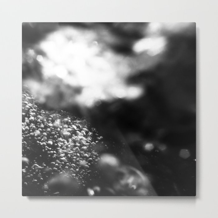 RIVER WATER Metal Print