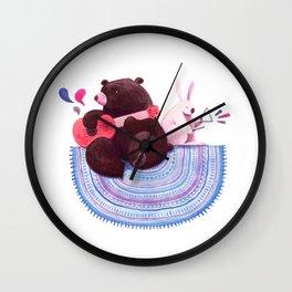 Bear & Bunny Wall Clock