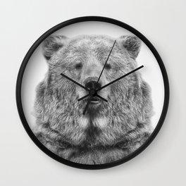 Bear European Wall Clock