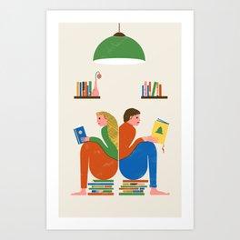 READERS Art Print