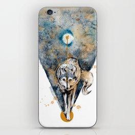 Lunar Wolf iPhone Skin