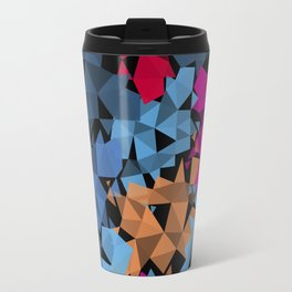 Colorful geometric Shapes Travel Mug
