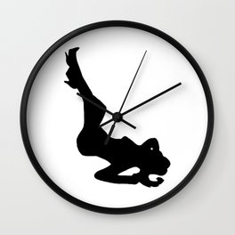 Lady of the Night Wall Clock