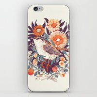 writing iPhone & iPod Skins featuring Wren Day by Teagan White