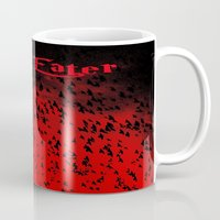 soul eater Mugs featuring Soul Eater by Deb Adkins