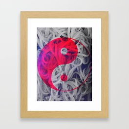 Harmony of Chinese Food Framed Art Print