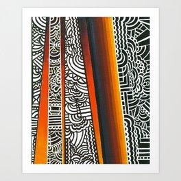 A.Ray Art Print