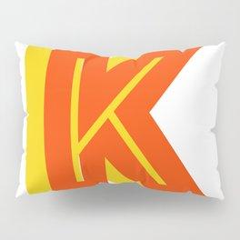 Letter K Pillow Sham