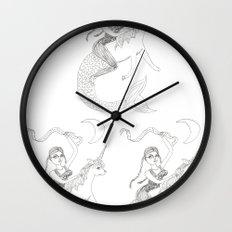 Cass Harris on a Mernicorn Wall Clock
