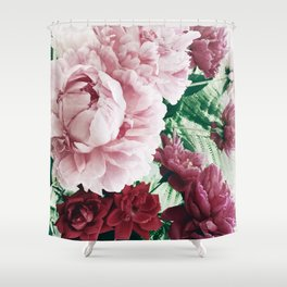 Peony Passion 2 Shower Curtain