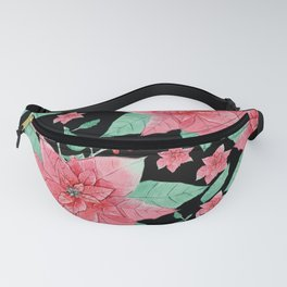 Poinsettia Delight Fanny Pack